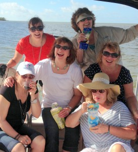 Hags on a Manatee tour